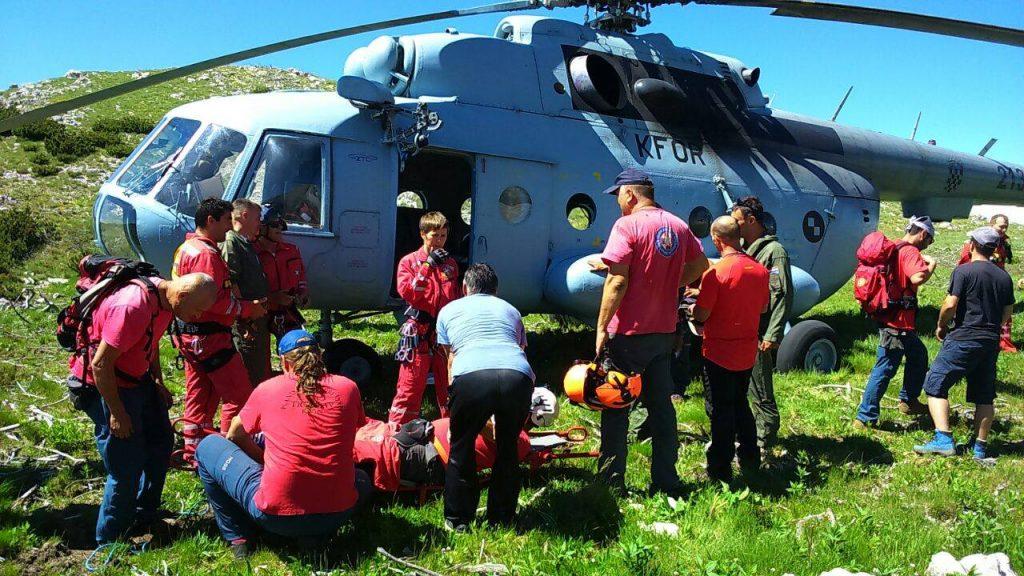 Akcija spašavanja HGSS-a Šibenik