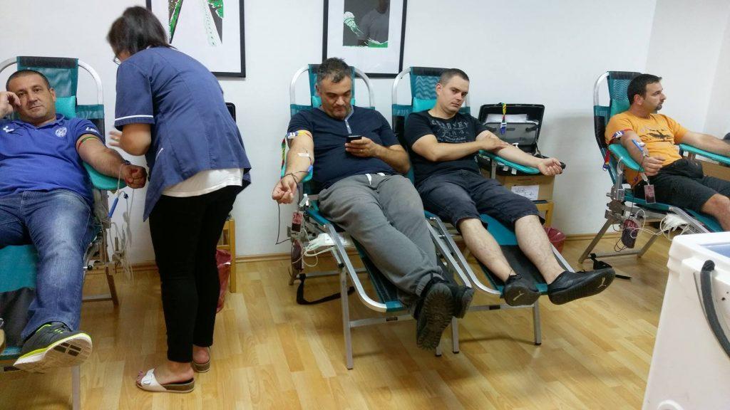 Izvještaj sa 13. akcije darivanja krvi (foto)