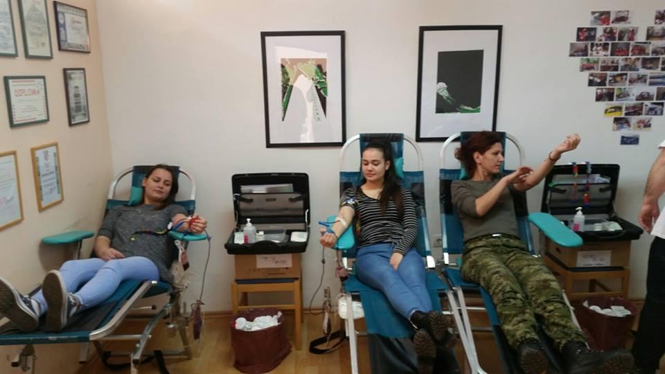 Izvještaj s II. ovogodišnje akcije dobrovoljnog darivanja krvi