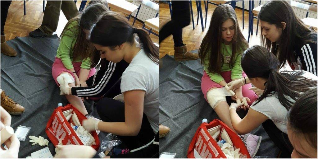 Održano školsko natjecanje Hrvatskog Crvenog križa – GDCK Knin