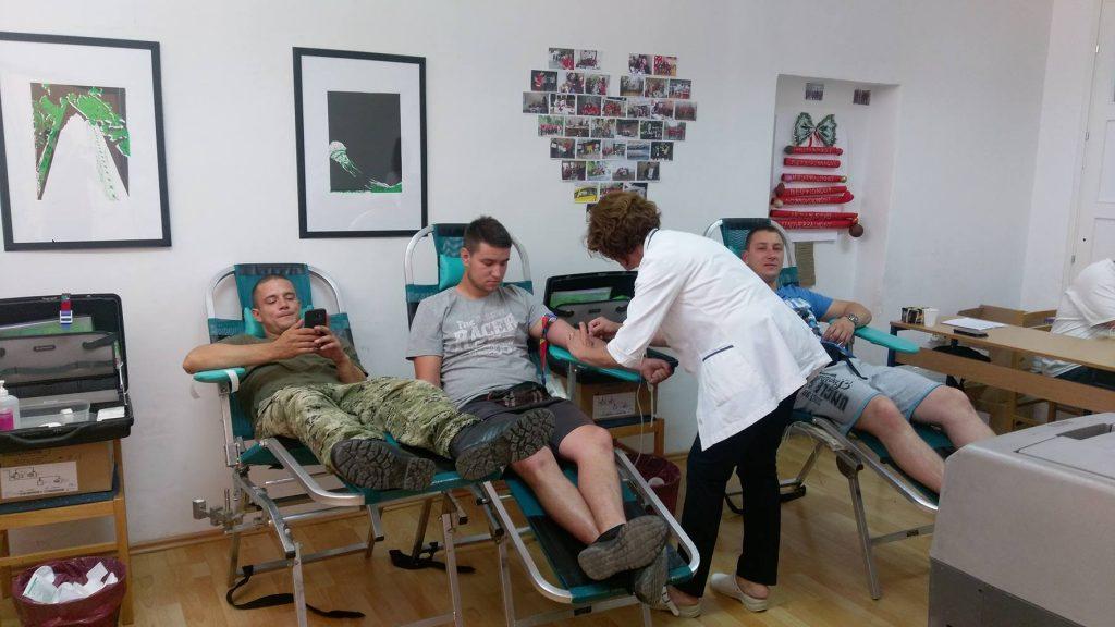 XIII. akcija dobrovoljnog darivanja krvi – 15.09.2017.