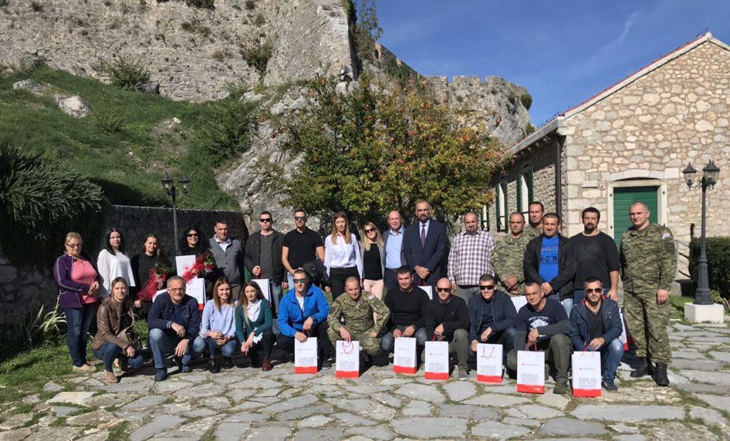 Obilježavanje Dana dobrovoljnih darivatelja krvi (26.10.2017.)