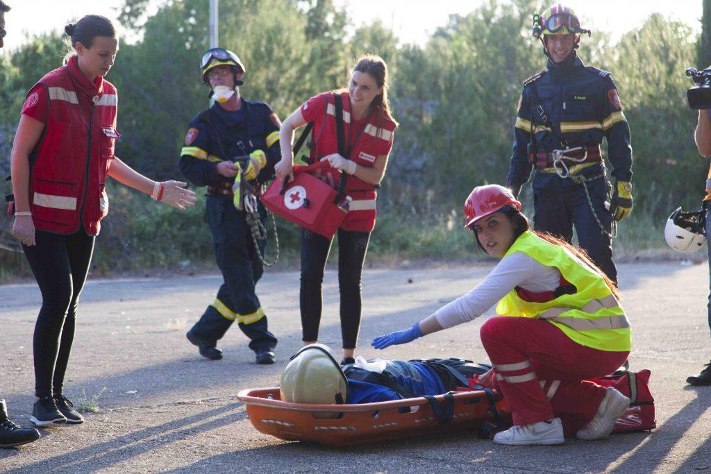 Vježba civilne zaštite u Minerskoj (11. svibnja 2018.)