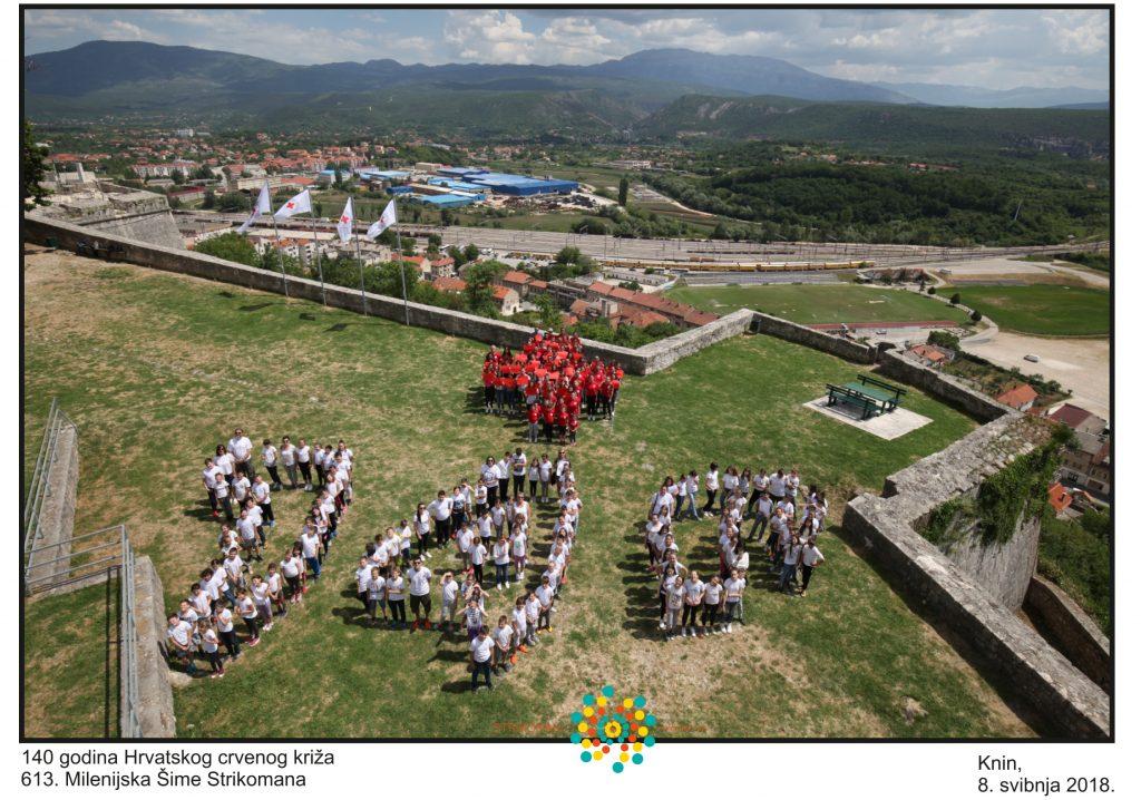 Milenijska fotografija povodom 140 godina Hrvatskog Crvenog križa
