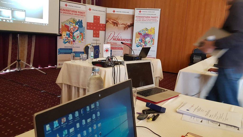 Gradsko društvo Crvenog križa Knin sudjelovalo na edukaciji o savjetovanju krajnjih korisnika o pristupu socijalnim pravima i uslugama te na edukaciji o upravljanju provedbom i financijskom vođenju projektima financiranima iz EU fondova