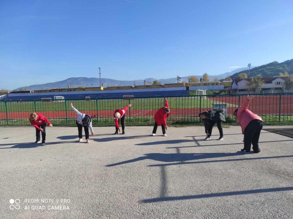 """Medicinska gimnastika u sklopu programa očuvanja i prevencije bolesti projekta """"Aktivni zajedno"""" UP.04.2.1.09.0005 (30.10.2020.)"""