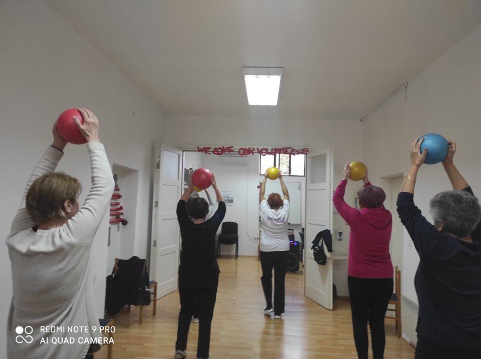 """Medicinska gimnastika u sklopu programa očuvanja i prevencije bolesti projekta """"Aktivni zajedno"""" UP.04.2.1.09.0005 (23.10.2020.)"""