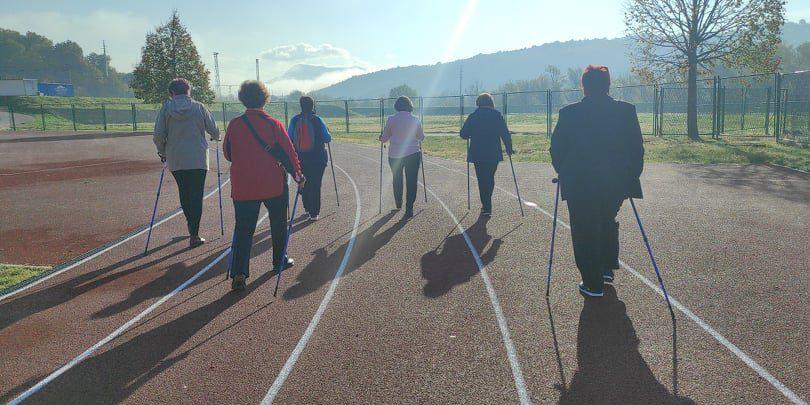 """Nordijsko hodanje u sklopu programa očuvanja i prevencije bolesti projekta """"Aktivni zajedno"""" UP.04.2.1.09.0005 (20.11.2020.)"""