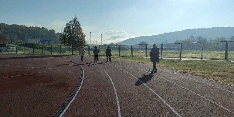 """Nordijsko hodanje u sklopu programa očuvanja i prevencije bolesti projekta """"Aktivni zajedno"""" UP.04.2.1.09.0005 (27.11.2020.)"""