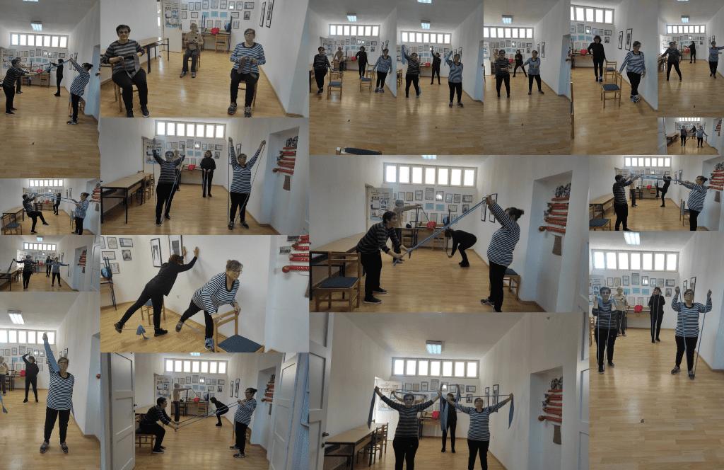 """Održana 60. radionica medicinske gimnastike u sklopu programa očuvanja i prevencije bolesti projekta """"Aktivni zajedno"""" UP.04.2.1.09.0005 (14.10.2021.)"""